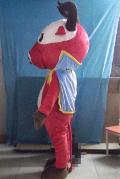 Xinjiang Yak Zodiac Animal Cow Cartoon Doll Clothing Cartoon Show Clothing Walking Cartoon Dolls Mascot Costume