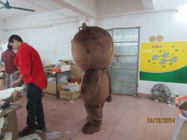 Coffee Bear Mascot Wedding Ceremonies Invincible Cute Cute Cute Easily Bear Cartoon Dolls Costumes Mascot Costume