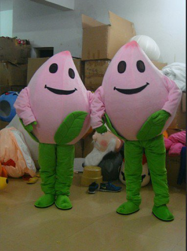 Couple Walking Doll Clothing Doll Clothing Peaches Shanghai Clothes Mascot Costume