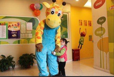 Deer Doll Clothing Cartoon Clothing Performance Props Apparel Clothing Cartoon Giraffe Deer Mascot Costume