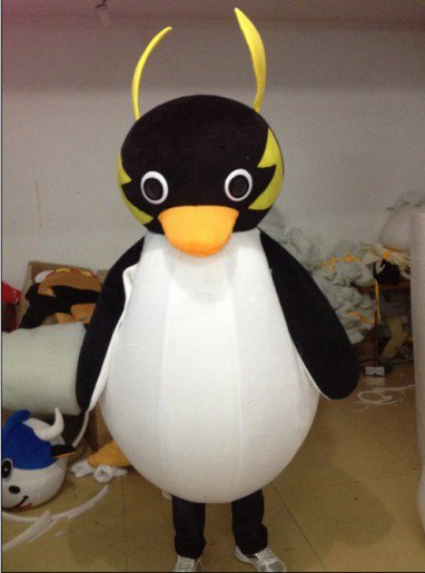 Qq Penguin Cartoon Clothing Cartoon Walking Doll Clothing Cartoon Doll Clothing Mascot Costume