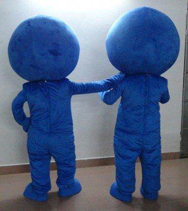 Shanghai Mascot Blue Eyes Found A Large Opera Stage Performance Clothing Cartoon Clothing Mascot Costume