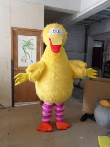 Special Section 2014 New Cartoon Animal Models Wedding Supplies Props Costumes Large Yellow Bird Mascot Costume