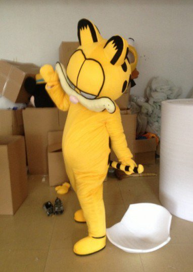 Garfield Cartoon Costumes Walking Cartoon Doll Clothing Cartoon Clothes Mascot Costume