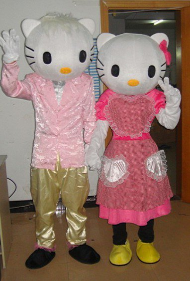 Holly Doll Clothing Cartoon Costumes Plush Toys Clothes Mascot Costume