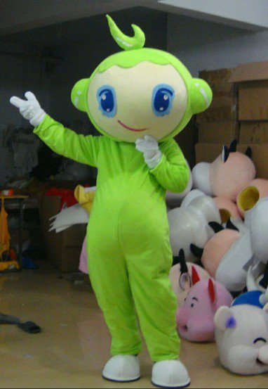 Hongjin Cartoon Doll Clothing Cartoon Character Costumes Performing Apparel Clothing Mascot Costume