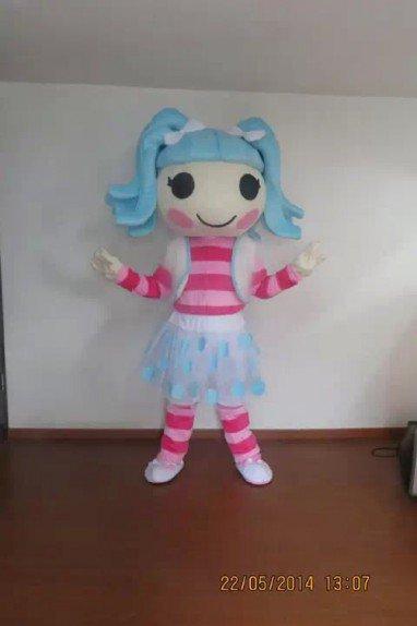 Overseas Edition Little Girl Cartoon Costumes Walking Cartoon Doll Clothing Doll Clothing Mascot Costume