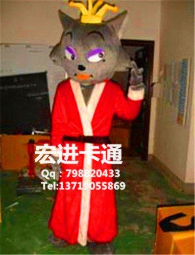 Radiant Zodiac Clothing Cartoon Costumes Pleasant Goat and Big Big Wolf Frankie Stage Performances Mascot Costume