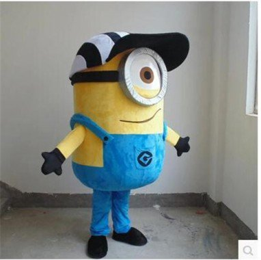Small Yellow Man Cartoon Dolls Clothing Despicable Me Despicable Me Huang Doudou Costume Mascot Costume