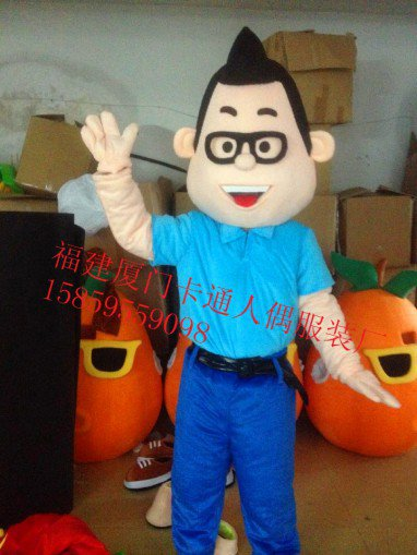 The Bulk of The First Father Son Costumes Walking Cartoon Dolls Cartoon Clothing Performance Clothing Mascot Costume