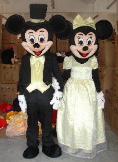 Wedding Cartoon Doll Clothing Cartoon Show Clothing Doll Clothing Mascot Costume