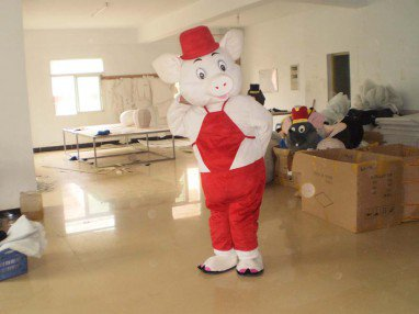 Cartoon Doll Clothing Fashion Show Props Pig Doll Clothes Mascot Costume