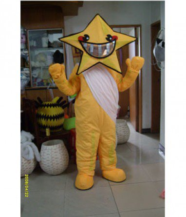 Cartoon Fashion Show Props Stage Props Clothing Plush Huang Baihai Star Mascot Costume