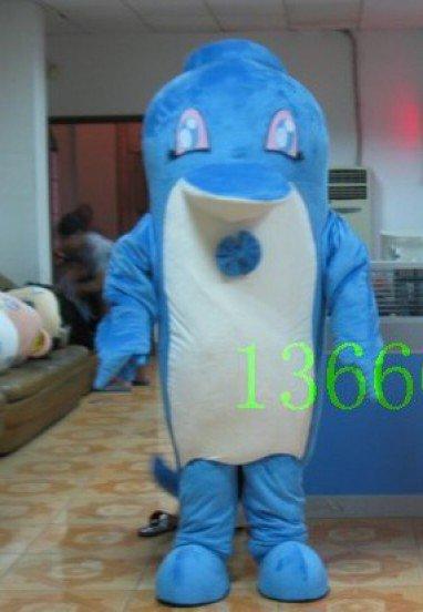 Dolphin Cartoon Dolls Cartoon Costumes Doll Clothes Shanghai and Jiangsu Mascot Costume