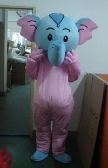 Elephant Cartoon Cartoon Dolls Clothes Dolls Dress Fashion Show Mascot Costume