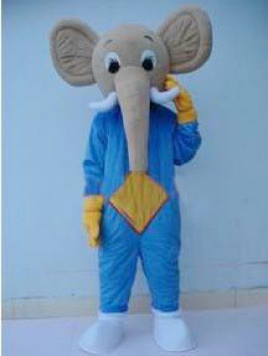 Hongjin Cartoon Costumes Stage Performance in Animal Models of Elephants Walking Doll Festive Supplies Mascot Costume