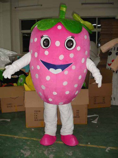 Strawberry Cartoon Doll Clothing Doll Clothing Stage Clothes Advertising Props Mascot Costume