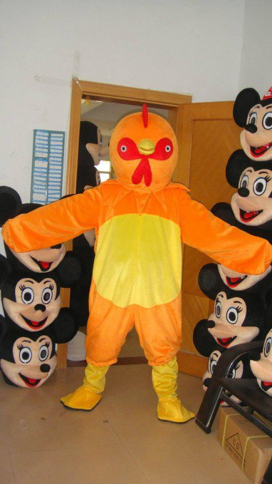 Wenzhou Cartoon Rooster Cartoon Clothing Performance Props Apparel Clothing Mascot Costume