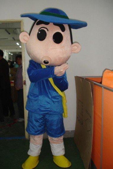 Cartoon Character Costume Doll Dress Costumes Crayon Mascot Costume