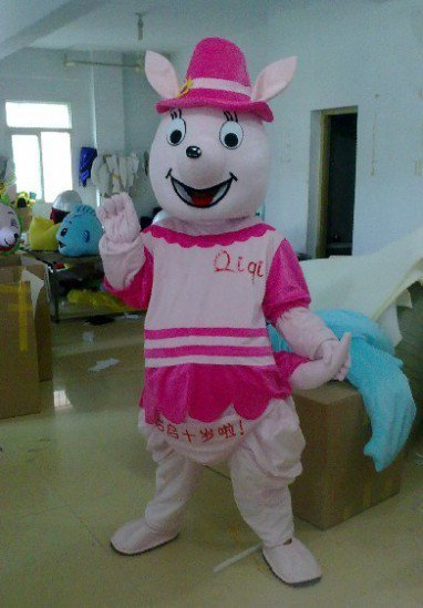 Cartoon Doll Clothing Doll Clothing Apparel Kangaroo Props Jiangsu Mascot Costume