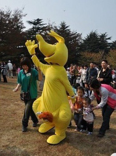 Kangaroo Cartoon Doll Clothing Supplies Clothing Apparel Advertising Mascot Costume