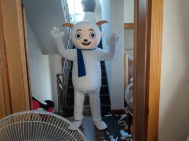 Pleasant Goat and Big Big Wolf Radiant Doll Clothing Walking Performance Clothing Mascot Costume