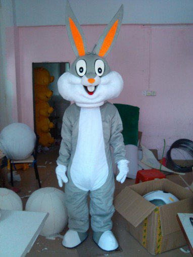 Color Bugs Bunny Cartoon Mascot Costume Cartoon Costumes Wedding Performances Show Cartoon Dolls Clothing
