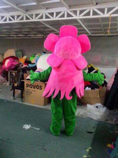 Cartoon Doll Clothing Peach Peach Walking Doll Cartoon Clothing Doll Clothes Props Mascot Costume