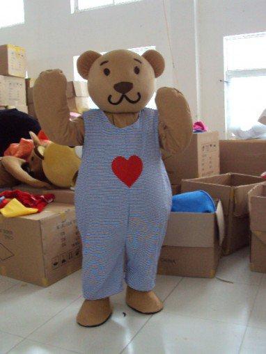 Clown Bear Bear Cartoon Doll Cartoon Clothing Cartoon Walking Doll Clothing Props Caps Mascot Costume