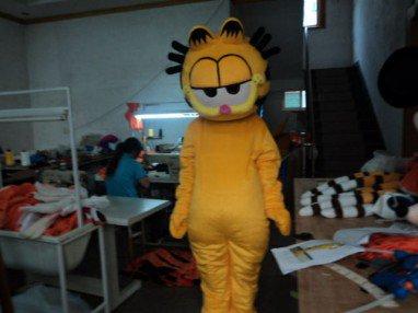 Coffee Cat Cartoon Clothing Cartoon Costumes Cartoon Walking Doll Clothing Performance Clothing Props Garfield Mascot Costume