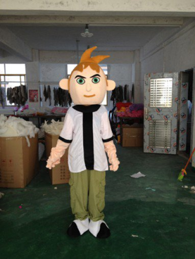 BEN10 Boy Turned Cartoon Clothing Cartoon Dolls Cartoon Game Characters Walking Doll Clothing Mascot Costume