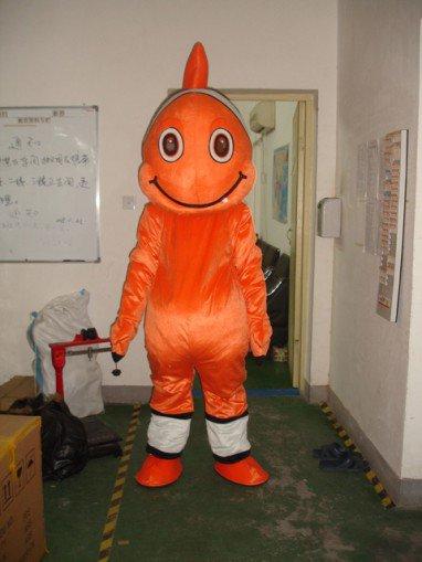 Clown Costumes Walking Cartoon Dolls Cartoon Clothing Cartoon Animal Costumes Props Halibut Mascot Costume