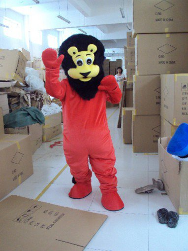 Lion Lion Walking Cartoon Dolls Cartoon Clothing Props Costumes Walking Doll Clothing Mascot Costume