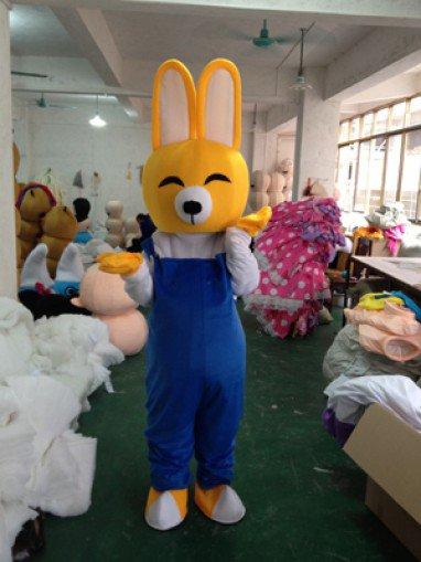 Little Bunny Rabbit Cartoon Doll Clothing Cartoon Costumes Walking Cartoon Doll Clothing Mascot Costume