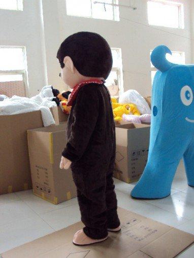 Qiqi Cartoon Monkey Dolls Clothing Walking Doll Clothing Doll Clothing Cartoon Doll Toy Mascot Costume