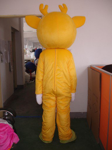 Sika Deer Walking Doll Clothing Doll Clothing Walking The Opening Ceremony of The Dragon Animal Clothing Apparel Mascot Costume