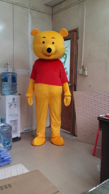 Winnie The Pooh Winnie The Pooh Cartoon Clothing Cartoon Dolls Dress Costumes Props Caps Mascot Costume