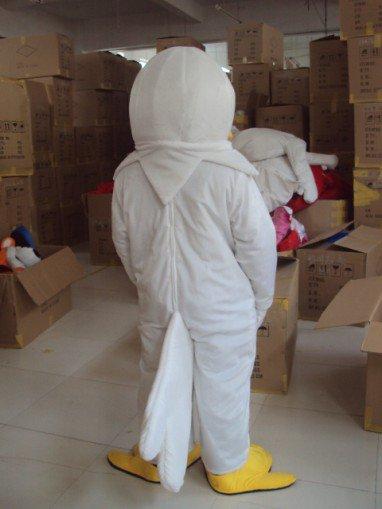 Eagle Cartoon Bird Cartoon Doll Clothing Cartoon White Eagle Headgear Walking Doll Clothing Props Mascot Costume