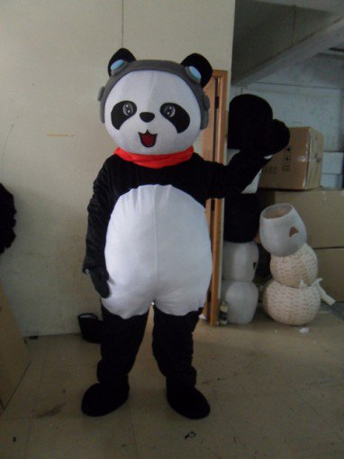 Panda Dolls Cartoon Clothing Cartoon Walking Doll Clothing Cartoon Panda Head Suit Mascot Costume