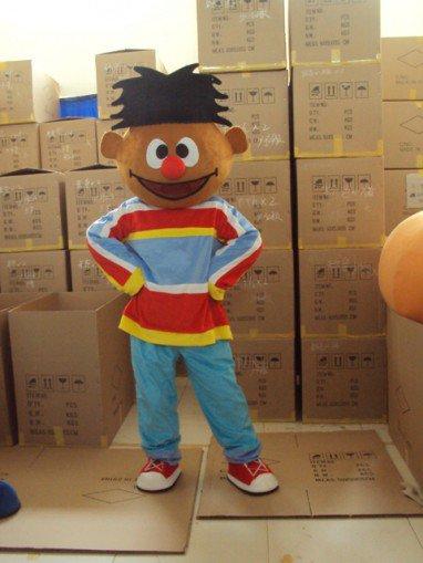 Elmo Little Boy Cartoon Clothing Walking Cartoon Doll Clothing Mascot Costume