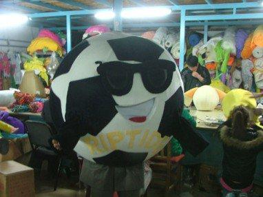 Soccer Boy Anime Cartoon Dolls Dolls Dolls Walking Corporate Mascot Performance Clothing Clothing Mascot Costume