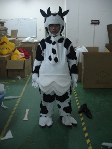 Cow Calf Faceless Dolls Walking Cartoon Clothing Performance Clothing Cartoon Children Children Clothing Mascot Costume