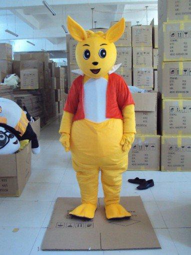 Shanghai Cartoon Dolls Clothing Wallabies Children Apparel Cartoon Doll Clothing Mascot Costume