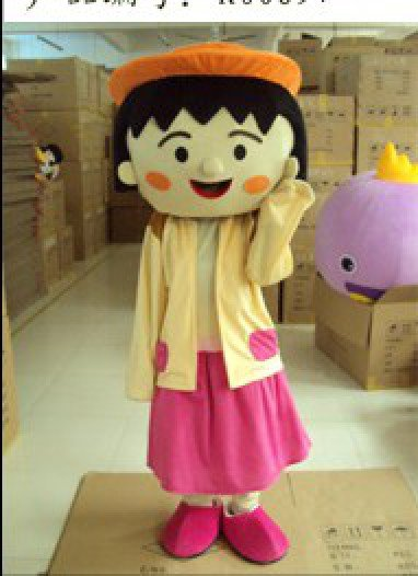 Cartoon Costumes Cartoon Character Chibi Maruko Cartoon Walking Doll Clothing Doll Mascot Costume