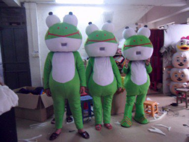 Cartoon Doll Clothing Doll Clothing Toad Frog Doll Can Even Moving Performance Props Mascot Costume