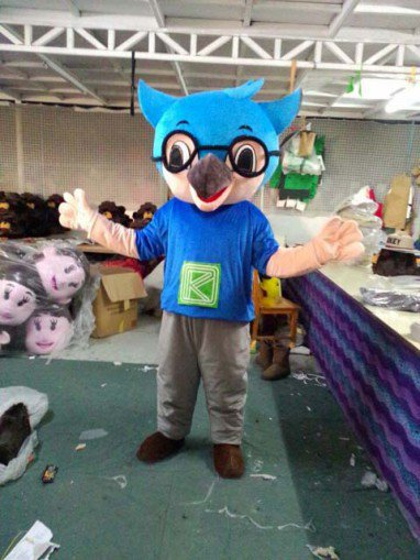 Eagle Owl Cartoon Dolls Cartoon Clothing Walking Doll Clothing Corporate Mascot Props Mascot Costume