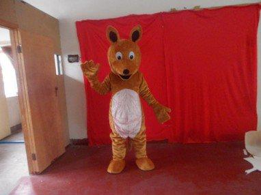 Kangaroo Cartoon Clothing Cartoon Dolls Walking Cartoon Cartoon Props Corporate Mascot Mascot Costume