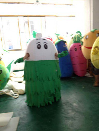 Shanghai Cartoon Doll Costume Props Turnip Radish Bulk Carrots Walking Doll Clothing Mascot Costume