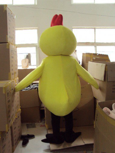 Small Yellow Chicken Chick Cartoon Dolls Cartoon Clothing Cartoon Costumes Walking Doll Clothing Mascot Costume