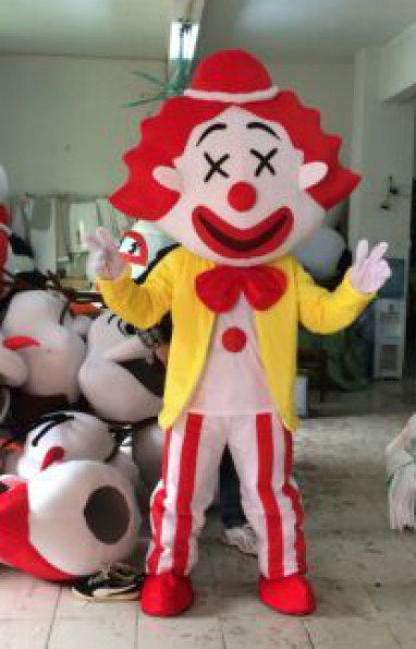 Clown Cartoon Character Show People Walking Doll Clothing Doll Clothing Cartoon Clothing Cartoon Dolls Clothing Mascot Costume